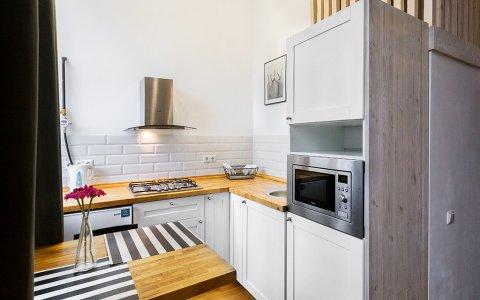 Квартира на сутки в Минске на Полоцкой, 5 кухня