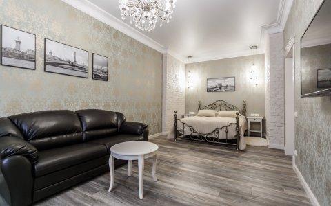 Двухкомнатная квартира в Минске на сутки Козлова, 7 гостиная